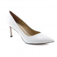 белые  женские выходные туфли