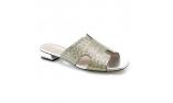 Цвет слоновой кости  женские сандалии