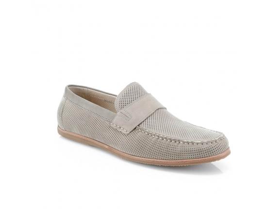 Цвет слоновой кости  мужские открытые туфли