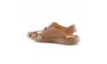 Цвет слоновой кости  мужские сандалии