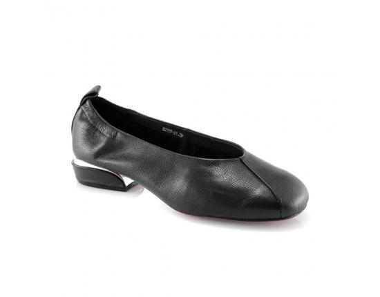 черные  женские повседневные туфли
