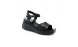 черные  женские сандалии