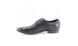черные  мужские открытые туфли