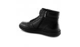 черные  мужские  зимние ботинки