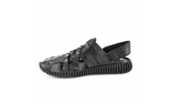 черные  мужские сандалии
