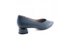 синие  женские туфли