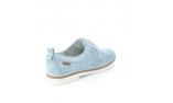 синие  женские повседневные туфли