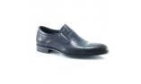 синие  мужские открытые туфли