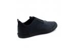 синие  мужские  классические ботинки