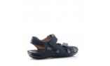 синие  мужские сандалии