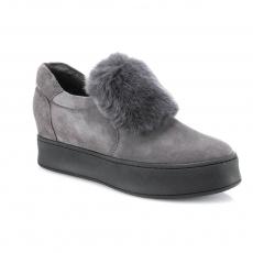 серые  женские повседневная обувь