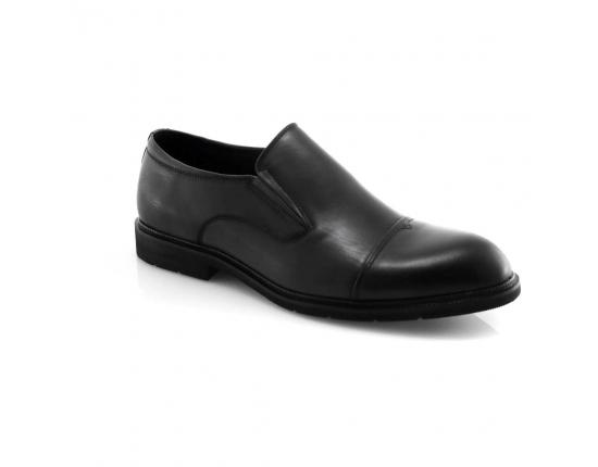 серые  мужские  классические ботинки