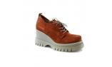 красные  женские туфли