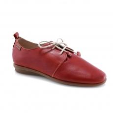 красные  женские повседневные туфли