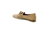 коричневые  женские туфли