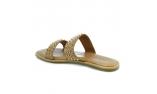 коричневые  женские сандалии