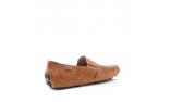 коричневые  мужские открытые туфли