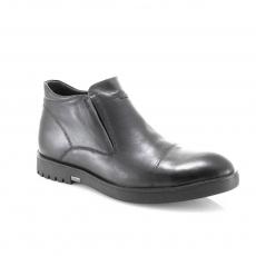 коричневые  мужские  зимние ботинки