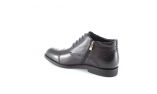 коричневые  мужские  rudeniniai pašiltinti batai