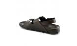 коричневые  мужские сандалии