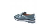 зеленые  женские туфли