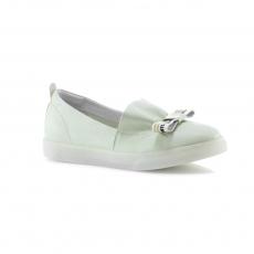 зеленые  женские повседневные туфли