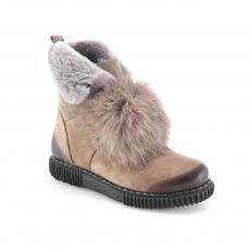 зеленые  женские зимние ботинки